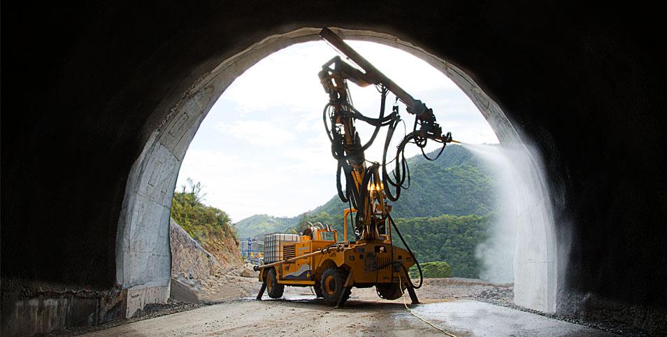 ¿Cuál es el equipo de proyección de hormigón más rentable para su proyecto?