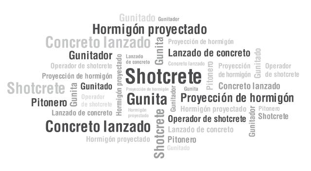 ¿Shotcrete, hormigón proyectado o concreto lanzado: cómo lo llama usted?