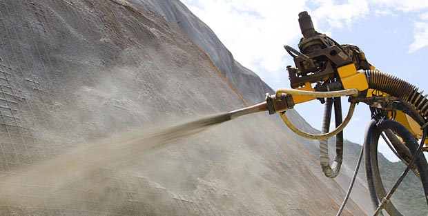 Do you have the right aggregate for your shotcrete mix? Find out with the grading curve!