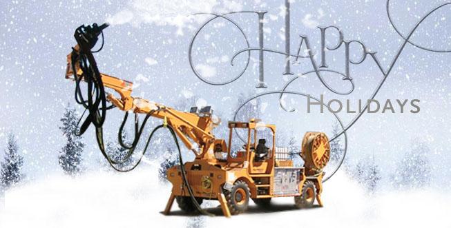 We wish you Happy Holidays!