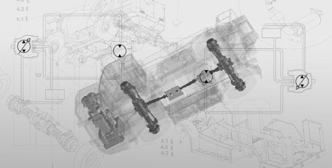 Ventajas de la transmisión hidrostática en construcción subterránea