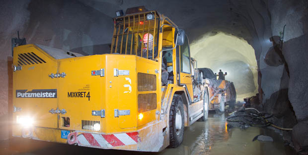 Equipment for underground construction work: Basic requirements