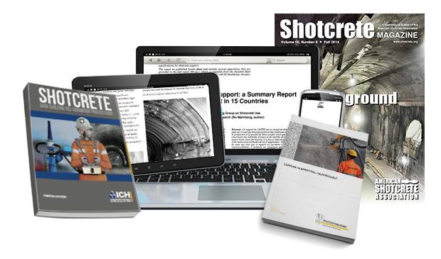 Top publications shotcrete- Putzmeister