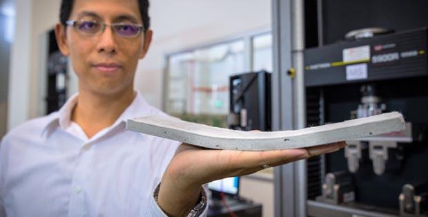 ¿Sabías que… el hormigón puede ser flexible?