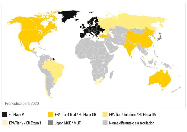 mapamundi-regulacion-emisiones-motores-non-road