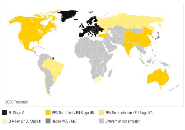 worldmap-non-road-engine-emissions-standars